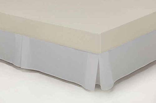 Cubre-canape Loneta con Fuelles Cama 150 cms Color Plata