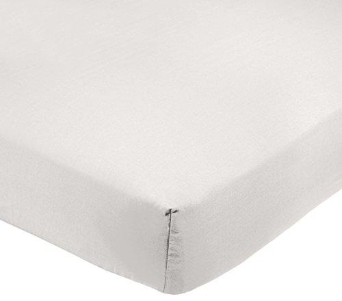 Amazon Basics AB 200TC Poly Cotton, Combinación de algodón, Blanco, 150 x 200 x 30 cm