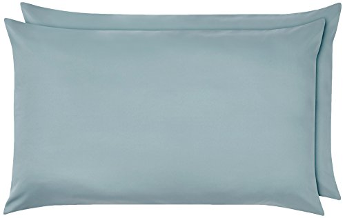 Amazon Basics Pillowcase, Azul Claro, 50 x 80 cm