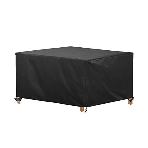 AWNIC Funda de Muebles de Jardín Funda para Mesa Silla Jardín ImpermeableTela Oxford Resistente al Desgarro 170X115X71cm