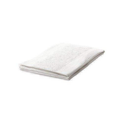 Ikea - Juego de 2 colchas de 150 x 250 cm, 100% algodón, color blanco