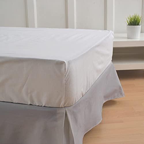 10XDIEZ Cubre canapé Gris | (Cama 150 cm - Gris)