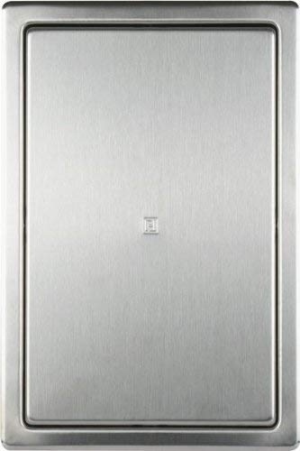Haco - Tapa para cuadro de inspección (acero cepillado, con marco empotrado, 200 x 300 mm)