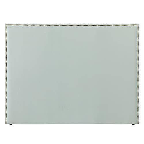 Kenay Home - Cabecero Tapizado 180 Solum, Cabezal Tapizado para Cama de 180: 190x120cm (AnchoxAlto) Menta Armani Incluye Anclajes