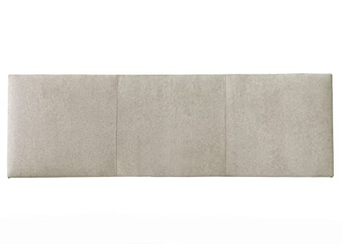 Kenay Home-Milos Cabecero Tapizado 165X52Cm (AnchoxAlto) Beige, Cama de 150: 165x52x3cm (AnchoxAltoxFondo)