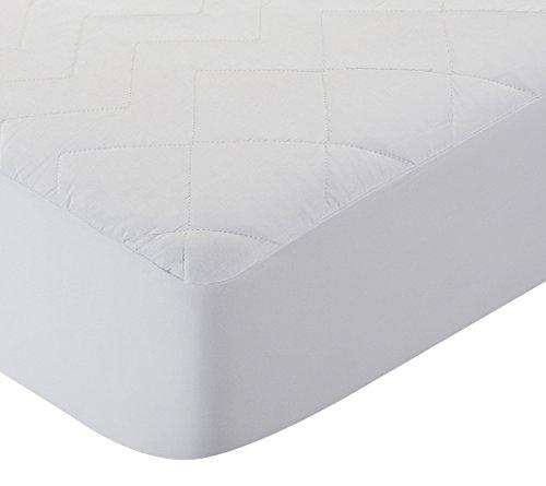 Pikolin Home - Protector de colchón/Cubre colchón acolchado de fibra antiácaros, transpirable, 150x190/200cm-Cama 150 (Todas las medidas)