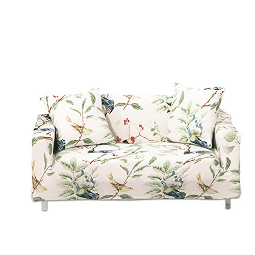 PETCUTE Funda de sofá elástica 3 plazas Fundas elasticas para Sofas Cubre Sofas con Estampado de Flores