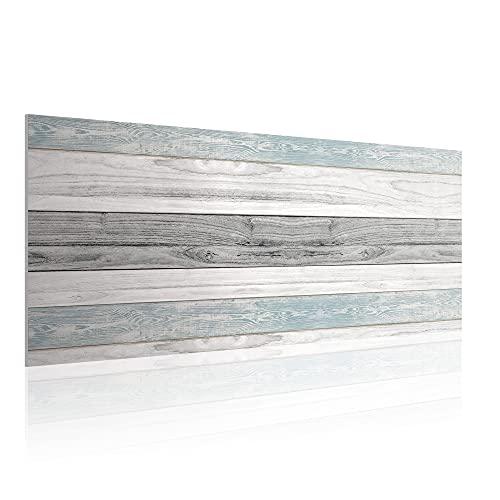 Cabecero para Cama de 150 cm, Imitación Madera, PVC Estampado, 160 x 60 x 0.5 cm, CAB-001