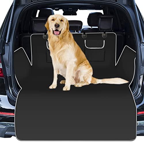 DoorJee Funda Protector para Maletero de Coche para Perros, Impermeable / A Prueba de Arañazos / Fundas de Asiento Lavable para Perros, Adecuado para Coches, SUV y Camiones