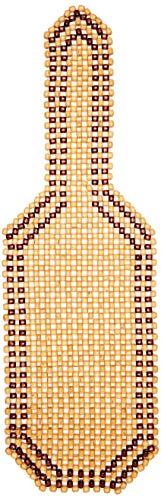 Carpoint 0323212 - Funda de bolas de madera para asiento, 126 x 39 cm