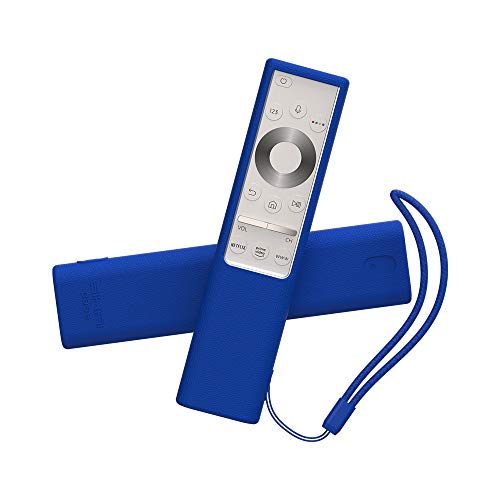 SIKAI CASE Ajustado Adapta Mando Funda de Silicona Compatible con 2019 Samsung Q7 / Q8 / Q9 Remote BN59-01311G / BN59-01311B, Anti-caída Carcasa de Protección a Prueba de Golpes (Azul)