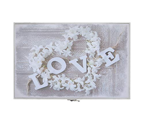 Tapa de contador original diseño romanticos decorativos 2m Medida: 46X7X32 CM (Love)
