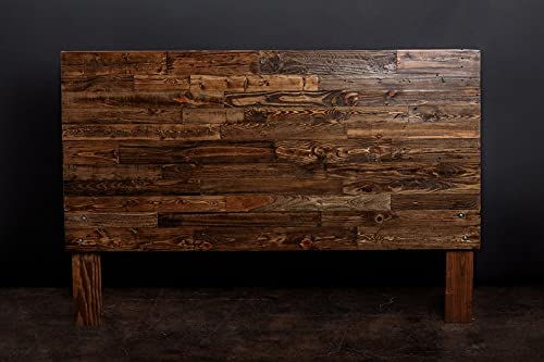 Cabecero de paletes - Cabezal Rustico - Respaldo para Cama con palets (Provincial, 135 x 110 x 6 cm)