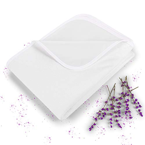 Blumtal Protector de Colchón Impermeable y Transpirable - Cubre colchón de algodón antiácaros con Bandas elásticas en Las 4 Esquinas, 90 x 200cm