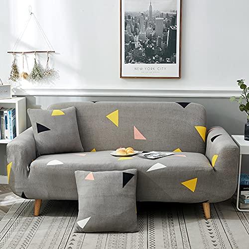 Asiento Funda de sofá Suave Stretch Force Funda de sofá elástica Universal Funda de canapé para casa Funda de sofá mágica A20 2 plazas
