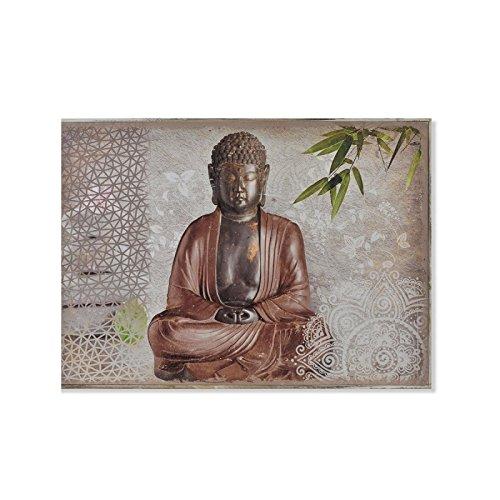 D,casa - Tapa de Contador diseño Oriental Buda Marron