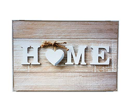 Tapa decorativa para contador original, diseño romántico de 2 m, 46 x 7 x 32 cm. Home