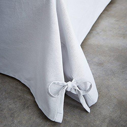 TODAY 576334Cache - Funda de somier, algodón/Tela Tejida/Polipropileno, algodón, Gris Zinc, 140x190 cm