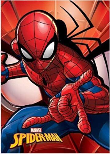 Spiderman Polar Referencia NI Mantas para Cama Colchas y cubrecamas Textiles del hogar Unisex Adulto, Color, Talla