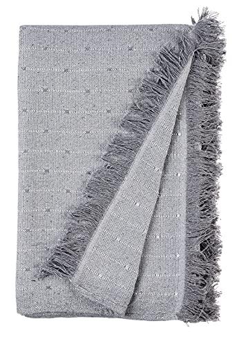 Lanovenanube - Plaid Multiusos Kenya 235x270 - Gris Perla