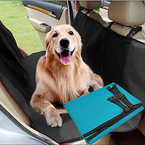 BPS Funda Perros Coche de Asiento Cubierta Universal Protector para Mascotas Impermeable Resistente Color al Azar BPS-5499