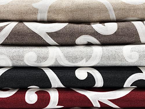 Riad Arredo - Tela decorativa para sofá – Funda multiusos GrandFoulard colcha de algodón – Tela robusta 2 plazas 240 x 260 cm (gris)