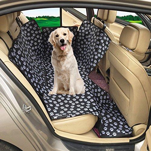 MATCC Cubierta de Asiento de Perro Funda de Coche para Perros Funda para Mascotas Protector de Asiento para Perros Oxford Impermeable
